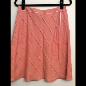 Coral Colored Skirt